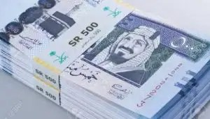 Saudi riyal announced mourning today because of the pound