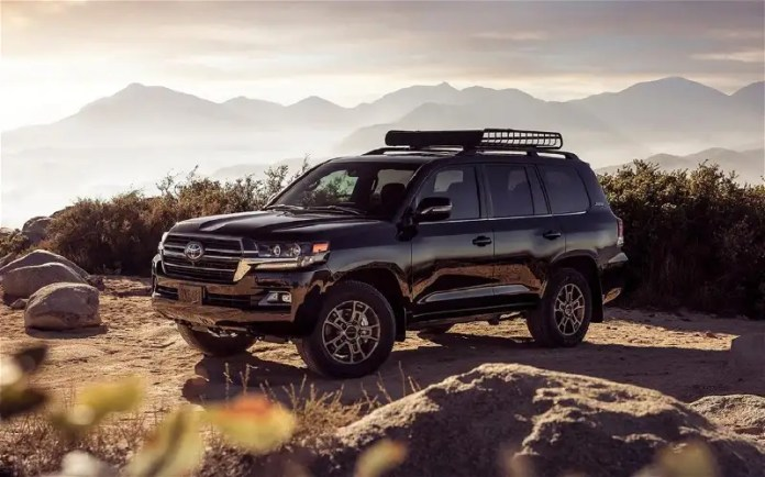 Full information about the Toyota Land Cruiser 2022 .. Watch