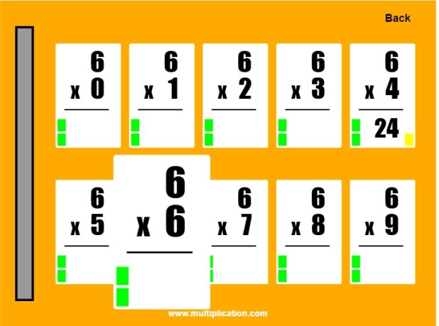 Times tables flash cards 1 12 for 12 times table flash cards