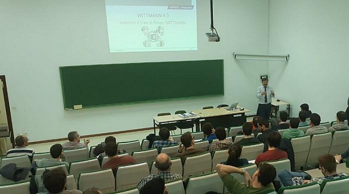 wittmann battenfeld, universidad de zaragoza, inyección de plásticos, wittmann 4.0, industria 4.0, jornada técnica, conferencia, puyuelo