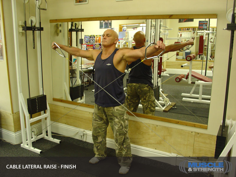 Cable Lateral Raise Video Exercise Guide Amp Tips Muscle