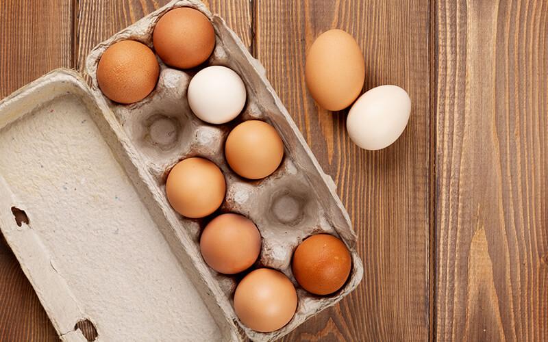 Os ovos são uma ótima opção para aumentar os níveis T