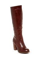 Greer Tall Boot - WINE