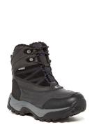 Snow Peak 200 Faux Fur Lining Boot - BLACK-PURP