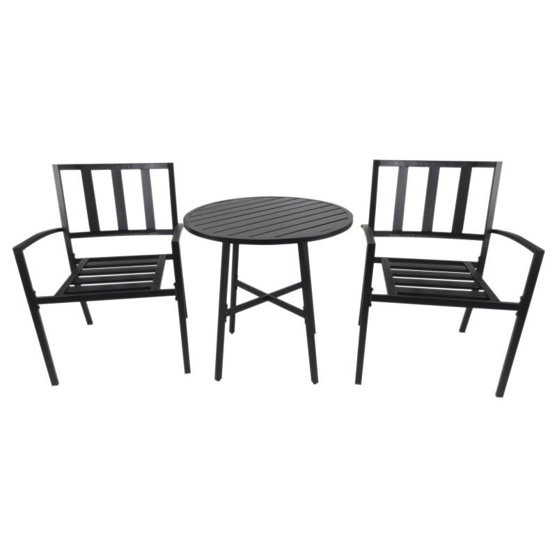 table et chaises de jardin bistro