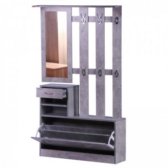 ensemble meubles d entree en bois gris mycocooning
