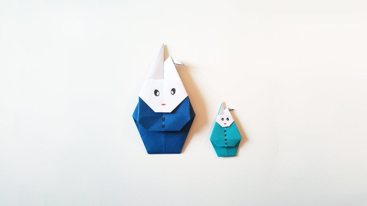 Hd Tuto Faire Un Lapin En Origami Make An Origami Rabbit