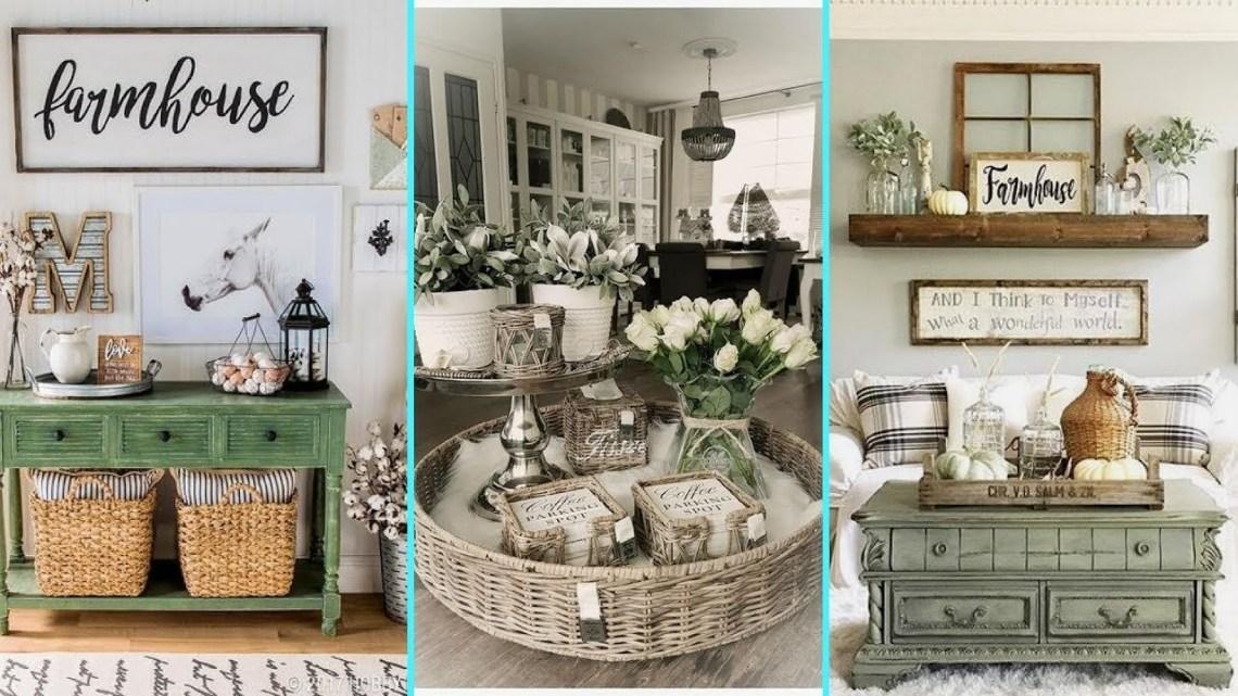 DIY Rustic Shabby chic style Farmhouse decor Ideas , Home ...