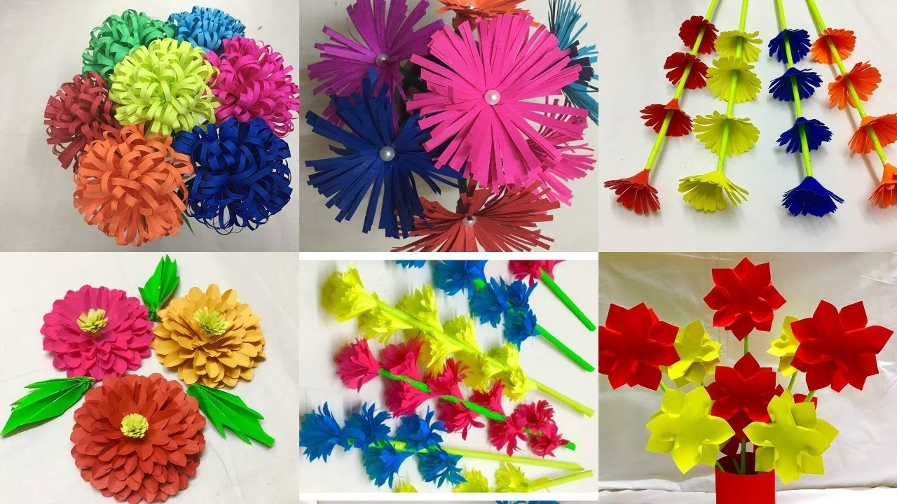 Simple Paper Flower Making Maco Palmex Co