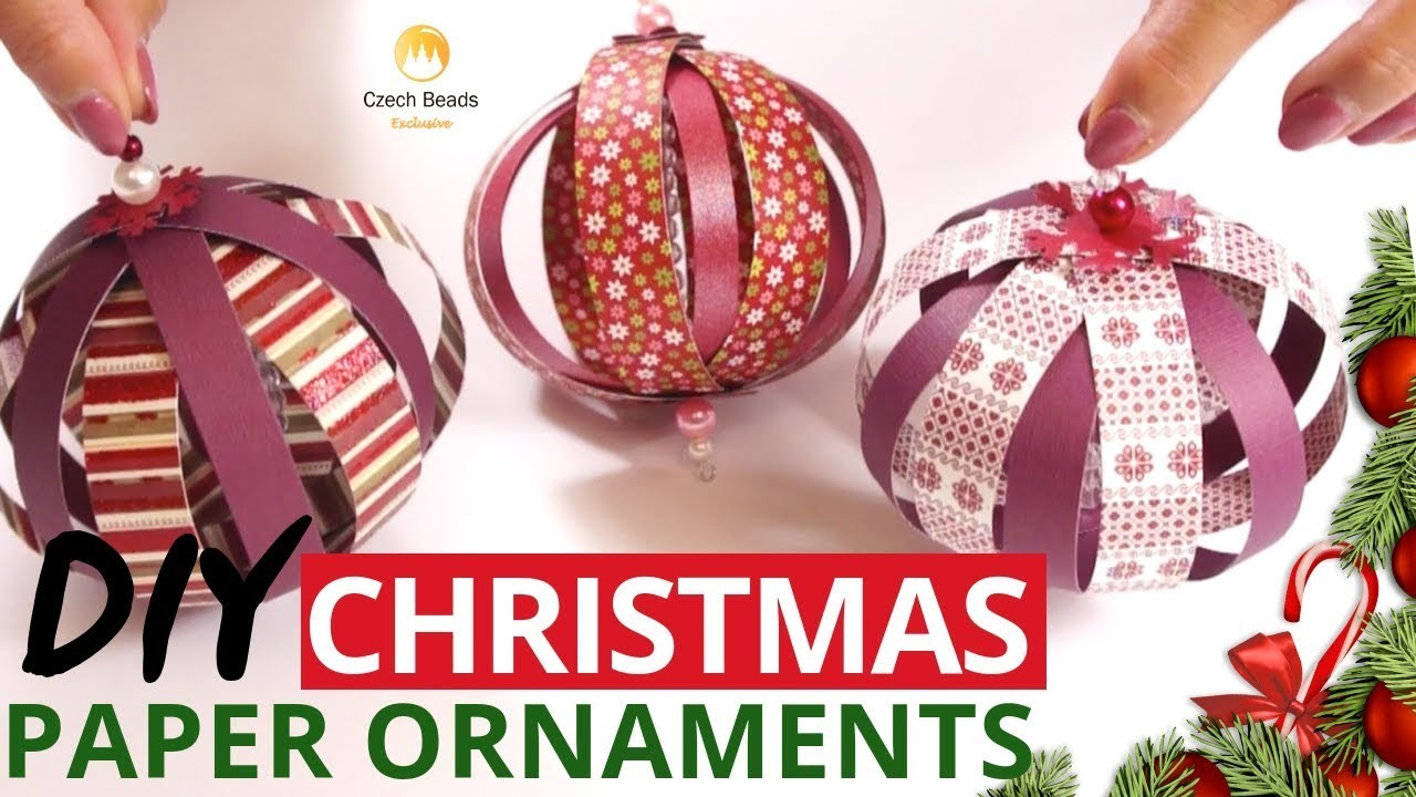 DIY Christmas Tree Ornaments Kits The Best Gift Home