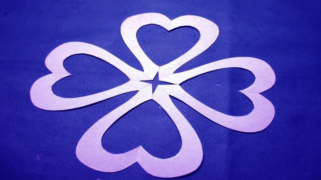 Paper Cutting Flower Designs Step By Kayaflower Co