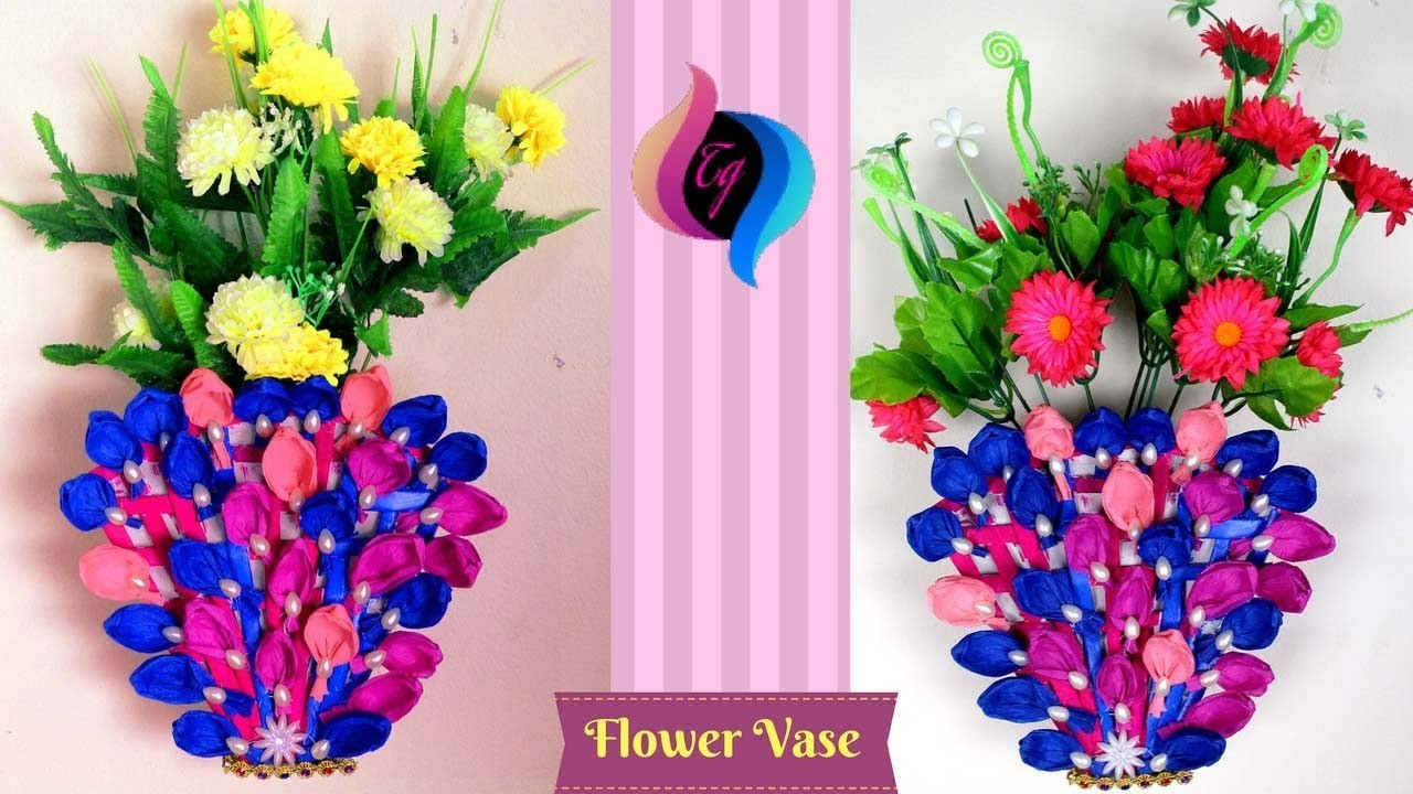 93 How To Make A Flower Vase Out Of Paper How To Make A Flower Vase