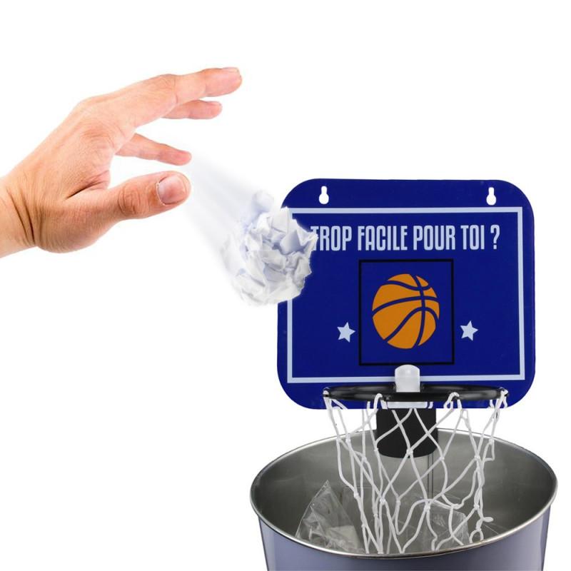 soldes panier de basket pour poubelle