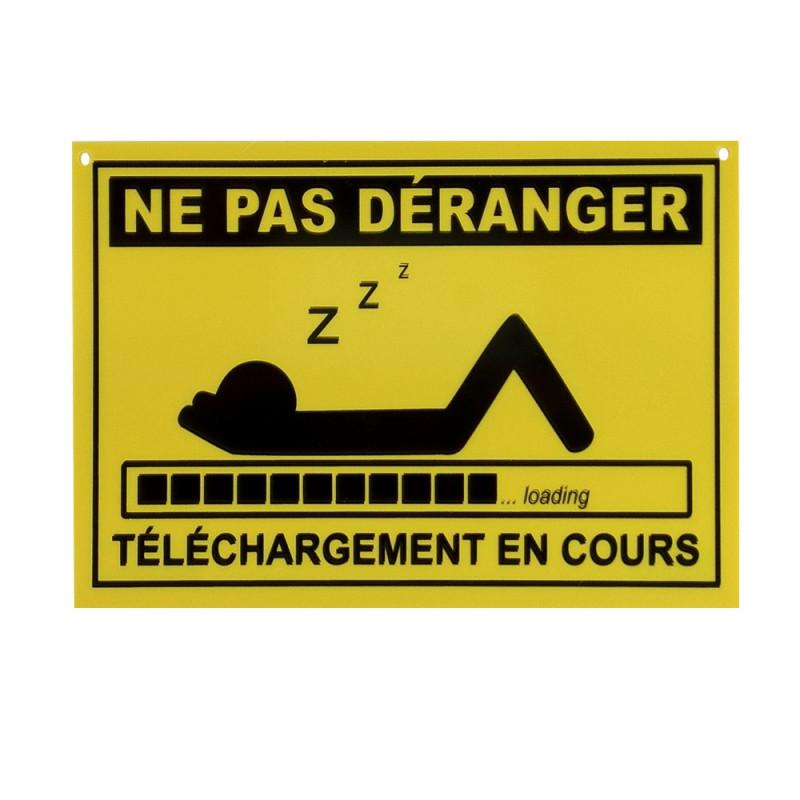 Plaque Ne Pas Dranger Tlchargement En Cours 395