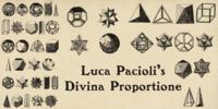 Luca Pacioli: De Divina Proportione