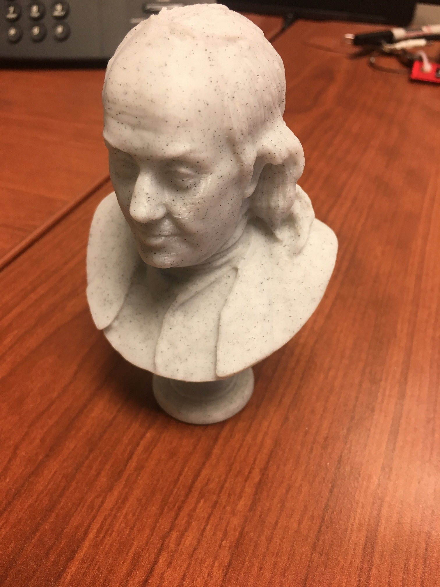 3d Printable Benjamin Franklin At The Met New York By