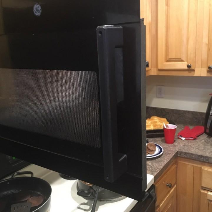 3d printable ge microwave handle by