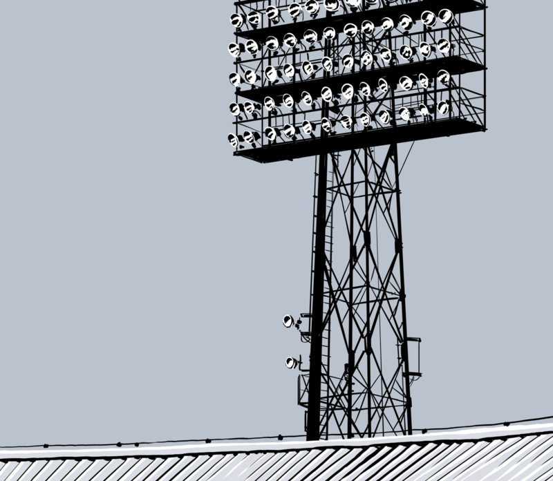 poster stadion feyenoord lichtmast kopen