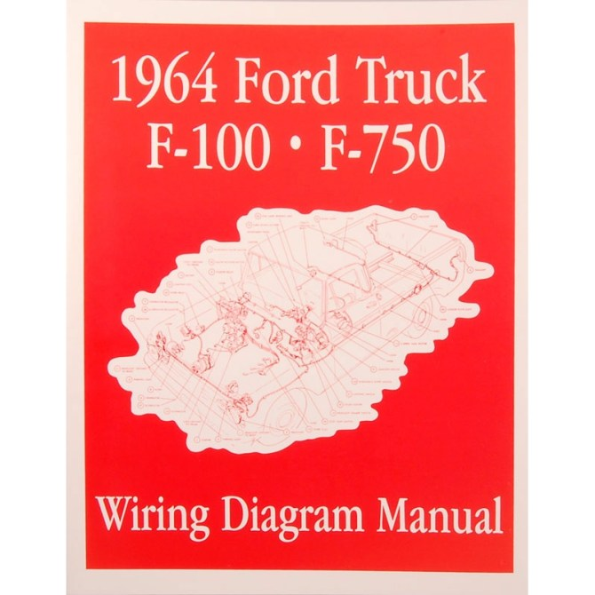 book  wiring diagram manual  truck  1964 ford truck  product details  dennis carpenter ford restoration parts for trucks broncos cars tractors