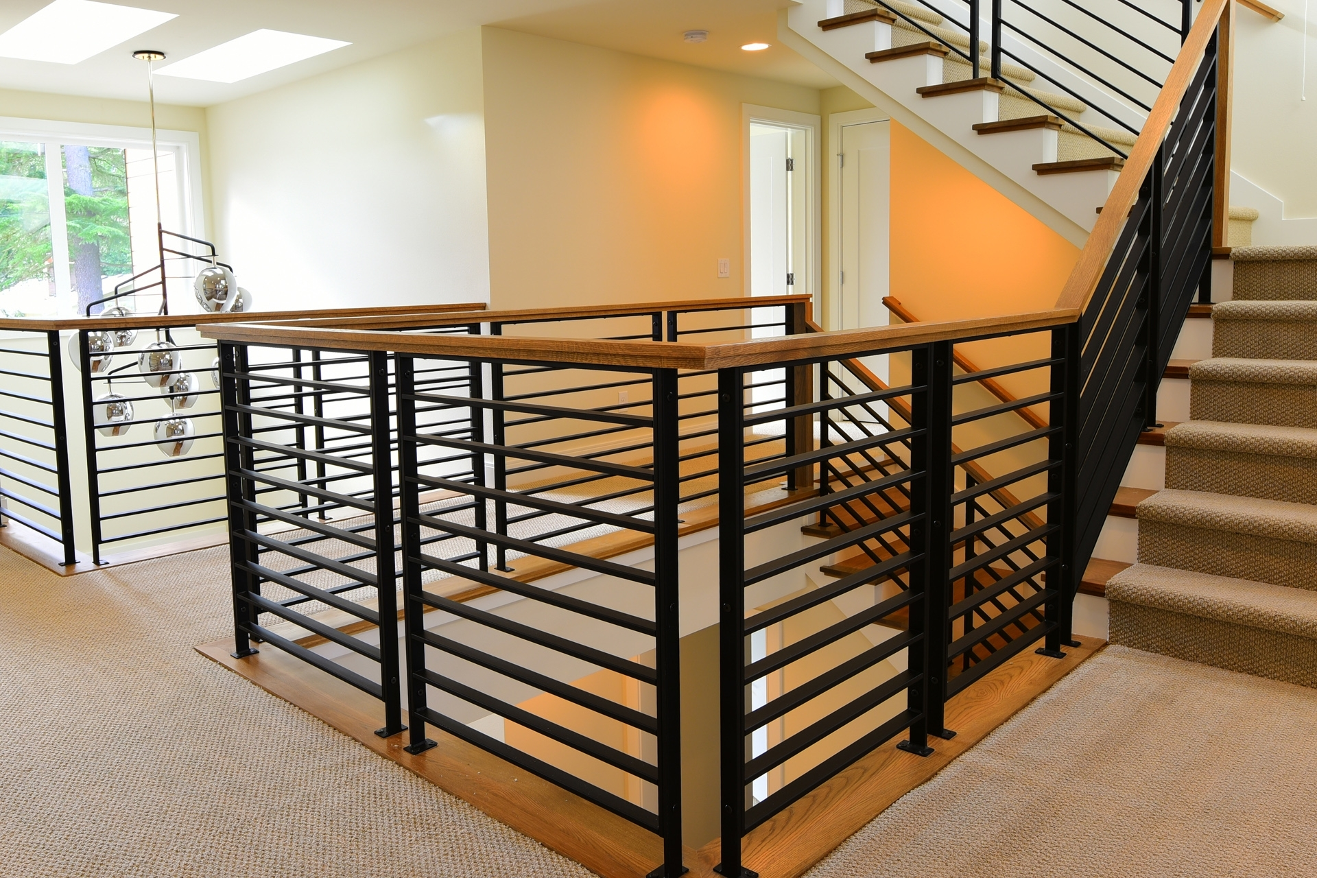 Stair Systems Stairs Stair Parts Newels Balusters And | Shaker Style Stair Railing | White | Exterior | Loft | Farmhouse Front Door | Square