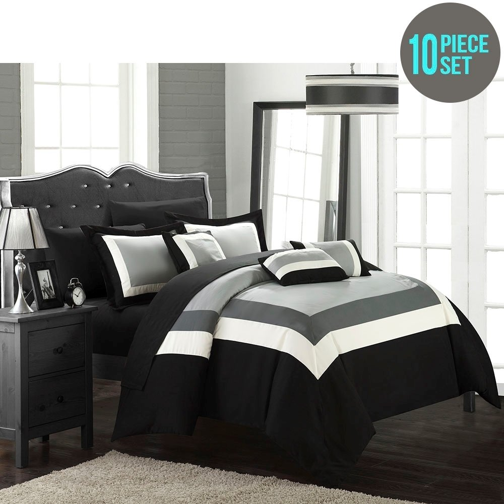 chic home dylan 10 piece comforter set