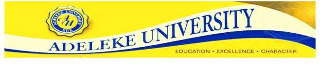 adeleke-university-school-fees-schedule