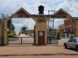 adeyemi college of education resumption date