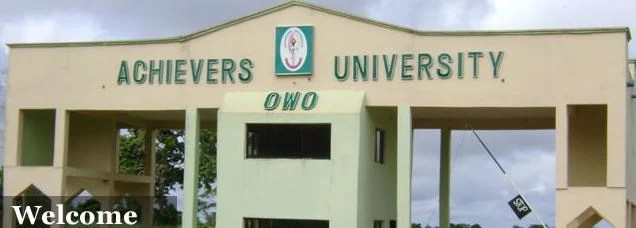 Achievers University JUPEB Form