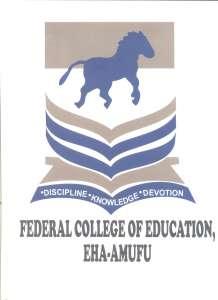 Federal College of Education, Eha-Amufu Post UTME Form