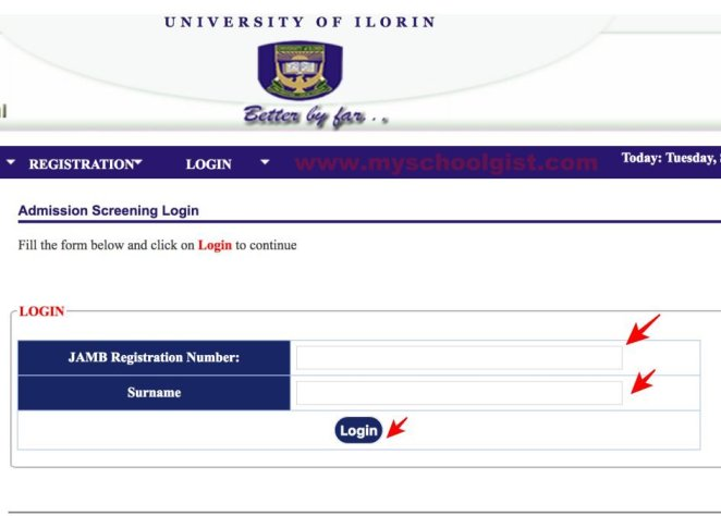 how to check unilorin post utme result
