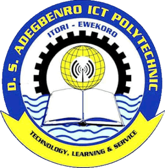 DS Adegbenro ICT Polytechnic HND Form