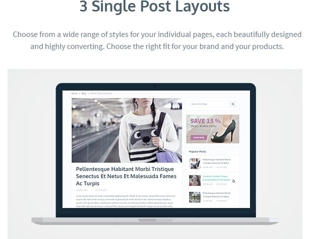 3 Single Post Layouts