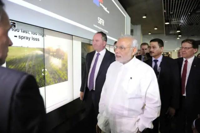 Image result for प्रधानमंत्री मोदी ने ऑस्ट्रेलिया में क्वींसलैंड यूनिवर्सिटी ऑफ टेक्नोलॉजी