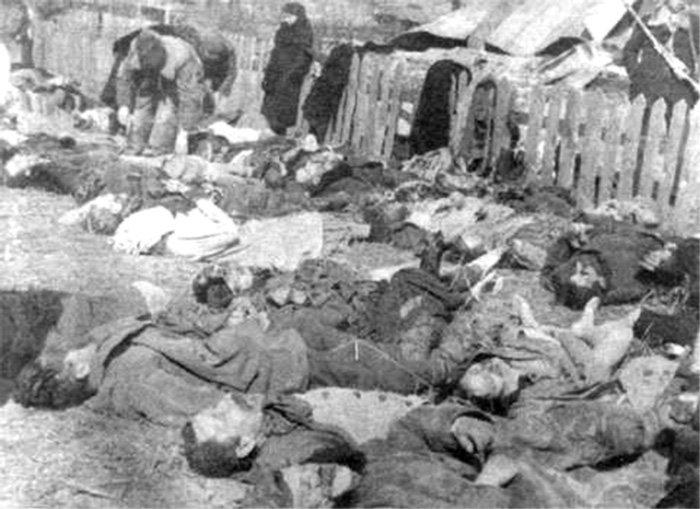 Zbrodnia w Lipnikach, 1943. UPA zabiło wtedy 182 mieszkańców.