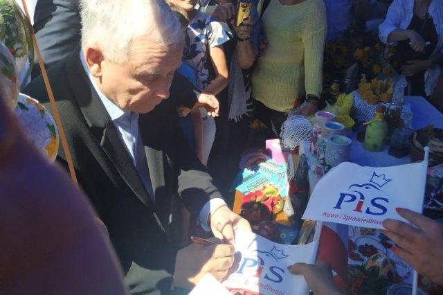 Jarosław Kaczyński zapowiedział na pikniku PiS duże zmiany w Konstytucji