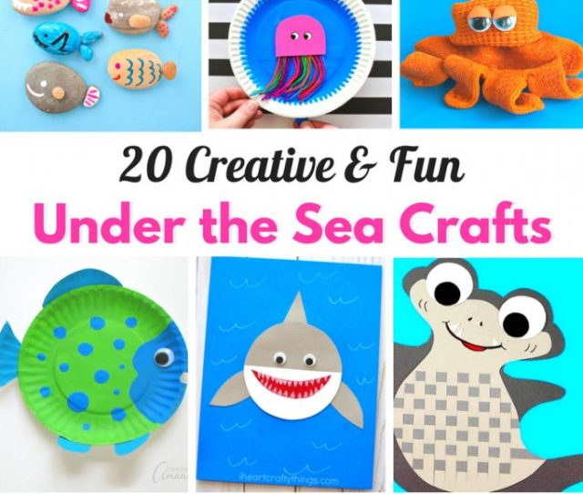 Under The Sea Crafts For Kids Natural Beach Living