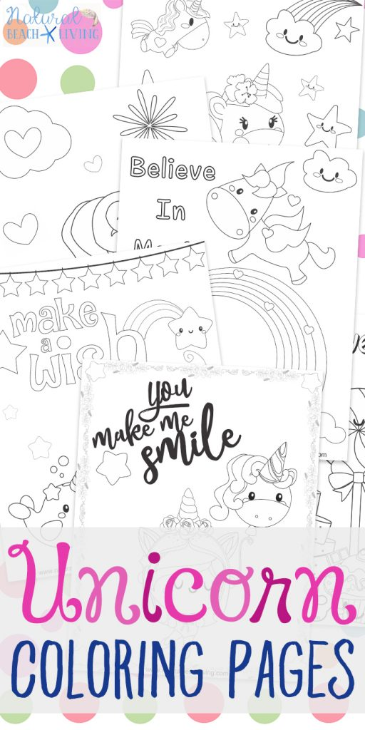 Unicorn Coloring Pages Free Unicorn Preschool Theme Activities Natural Beach Living