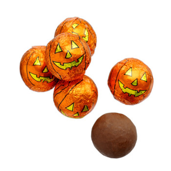 Image result for chocolate foil pumpkins