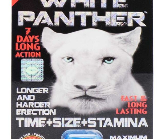 Sx Power White Panther Male Sex Supplement
