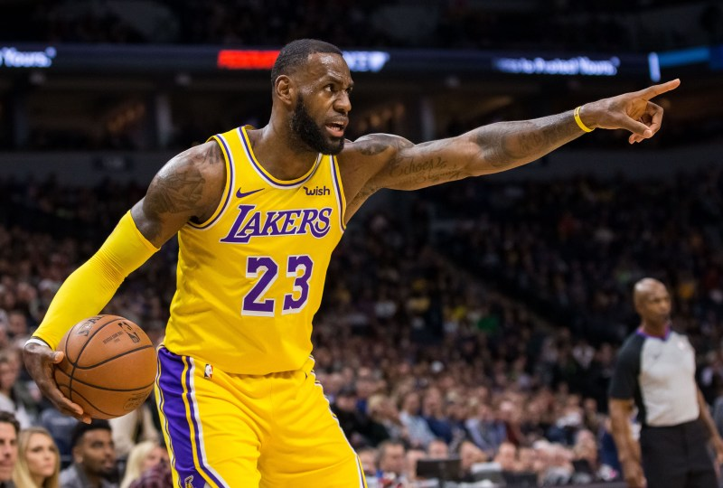 Report: Lakers plan to start LeBron James at point guard this season |  NBA.com