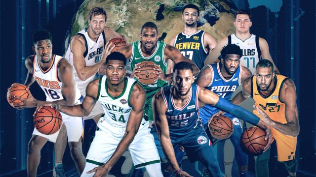 NBA rosters feature 108 international players from 42 countries ...