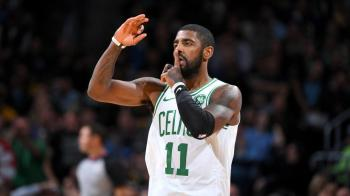 658a7875518 Kyrie Irving to miss game with shoulder injury