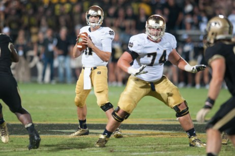 ND QB Tommy Rees, OG Christian Lombard