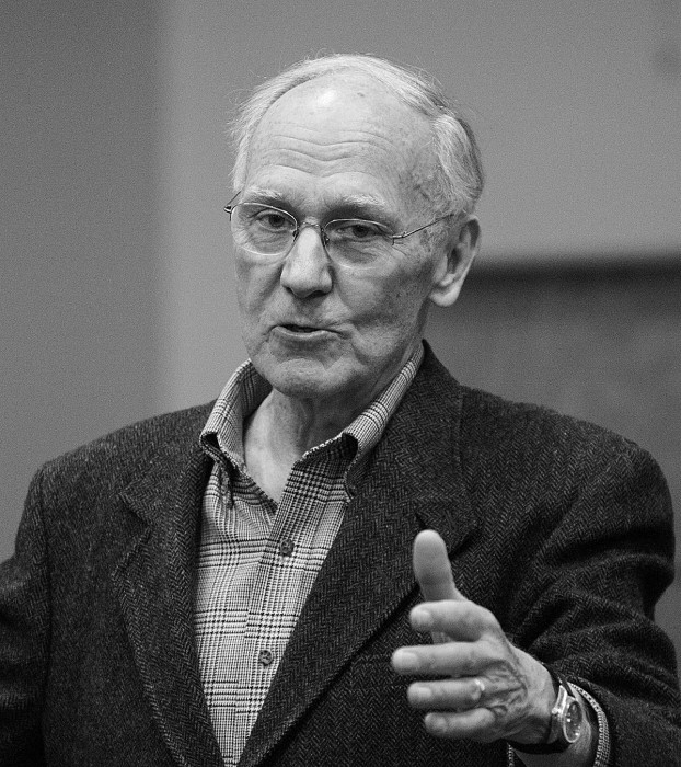 Retired U.S. Air Force general and Notre Dame gradute Joseph Ahearn discusses the role of morality in engineering.