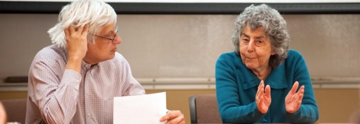 20140218, Emeritus, Frances Stewart, Hesburgh Institute Lecture, Human Development, Oxford, by Grant Tobin