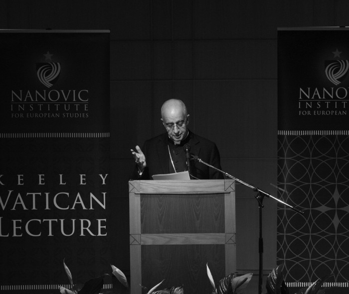 20140226, Annette Sayre, Hesburgh Center for International Studies, Vatican Lecture