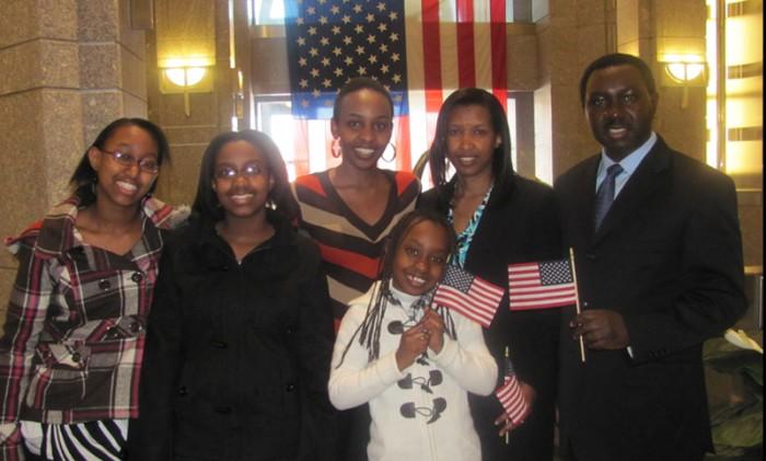 Rwanda rutagengwa Family Picture