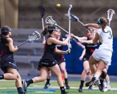 Women's Lacrosse rolls through Michigan, Cincinnati, By Emmet Farnan
