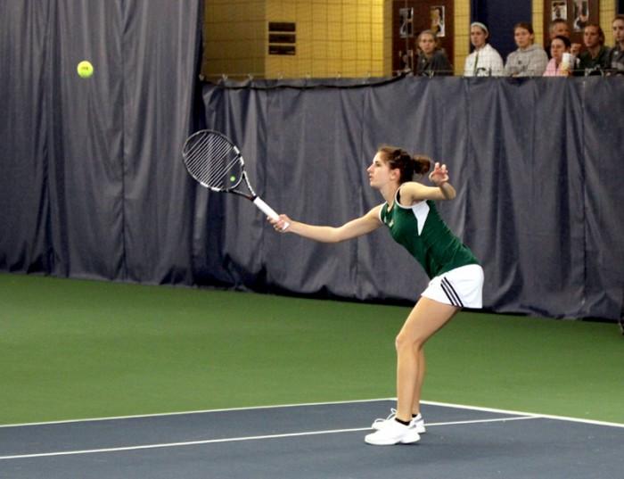 20140221, W Tennis vs Georgia Tech, Kellner, Emmet Farnan