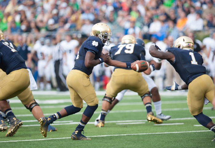 20140830, 20140830, Emily McConville, Football v. Rice, Notre Dame Stadium, The Observer